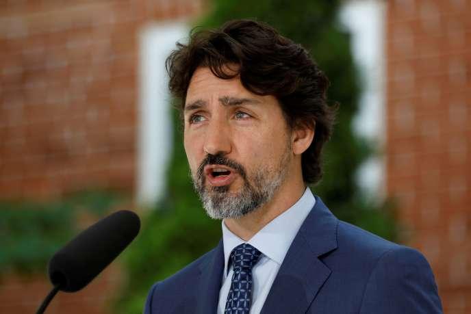 Le premier ministre canadien, Justin Trudeau, à Ottawa, le 22mai 2020.