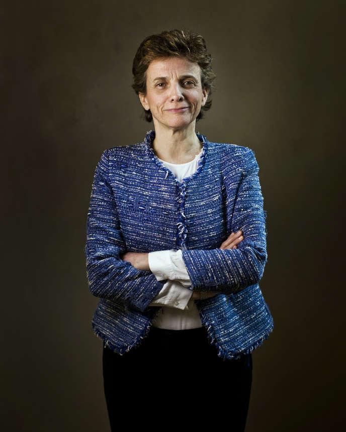 Marie-Laure Denis, présidente du CNIL, dans les locaux du CNIL, à Paris, le 12 avril 2019.
