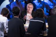 Laurent Ruquier sur le plateau de «On n'est pas couché», en 2019.