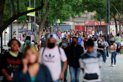 A Mexico City, le 4 juillet.