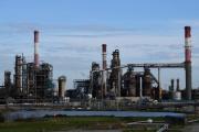 La raffinerie Total de Donges (Loire-Atlantique), le 16 Janvier 2020.
