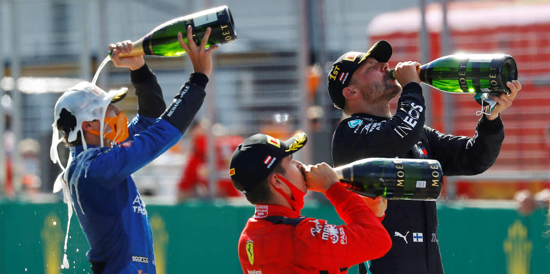 Finn Valtteri Bottas wins first F1 Grand Prix behind closed doors
