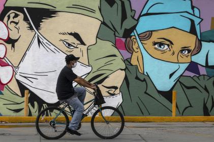 Peinture murale de l'artisteMick Martinez à Ciudad Juarez, au Mexique.