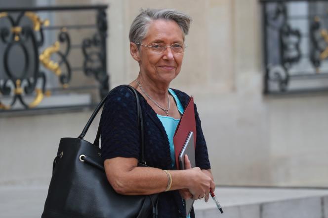Elisabeth Borne, à l'Elysée, le 29juin.