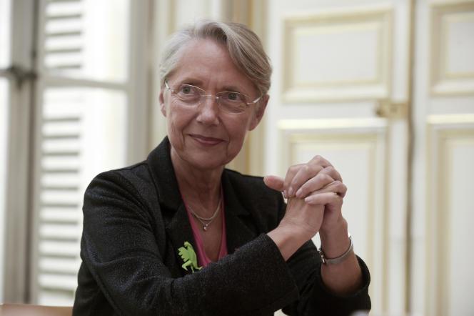 Elisabeth Borne, alors ministre de l'écologie, le 12 juin 2020.
