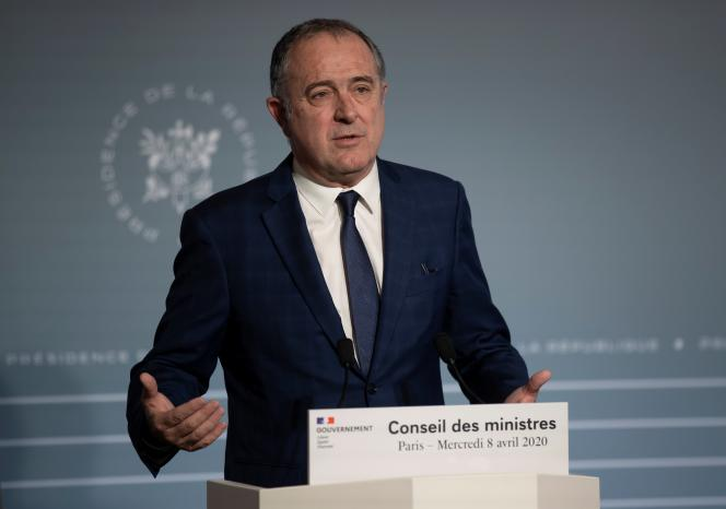 L'ancien ministre de l'agriculture Didier Guillaume, le 8 avril 2020.