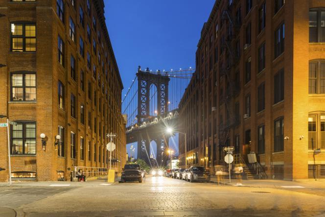Brooklyn au crépuscule.