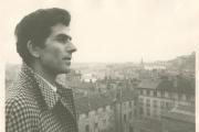 Paul Seban en 1972 à Lyon pendant les repérages du tournages des «Amants d'Avignon», un film tiré du roman d'Elsa Triolet.