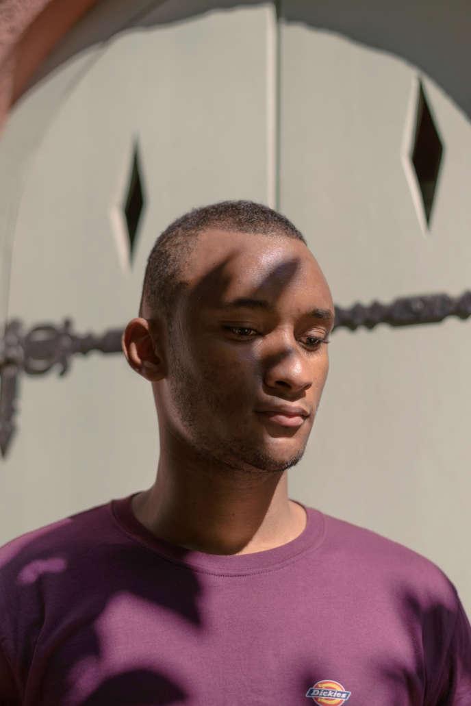 Amadou Diallo, à Athènes,le 3juillet.