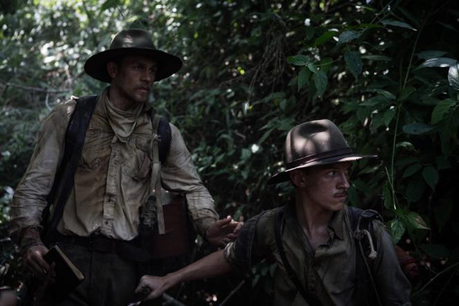 Charlie Hunnam (Percival Fawcett), Tom Holland (Jack Fawcett) dans «The Lost City of Z» (2016), de James Gray.
