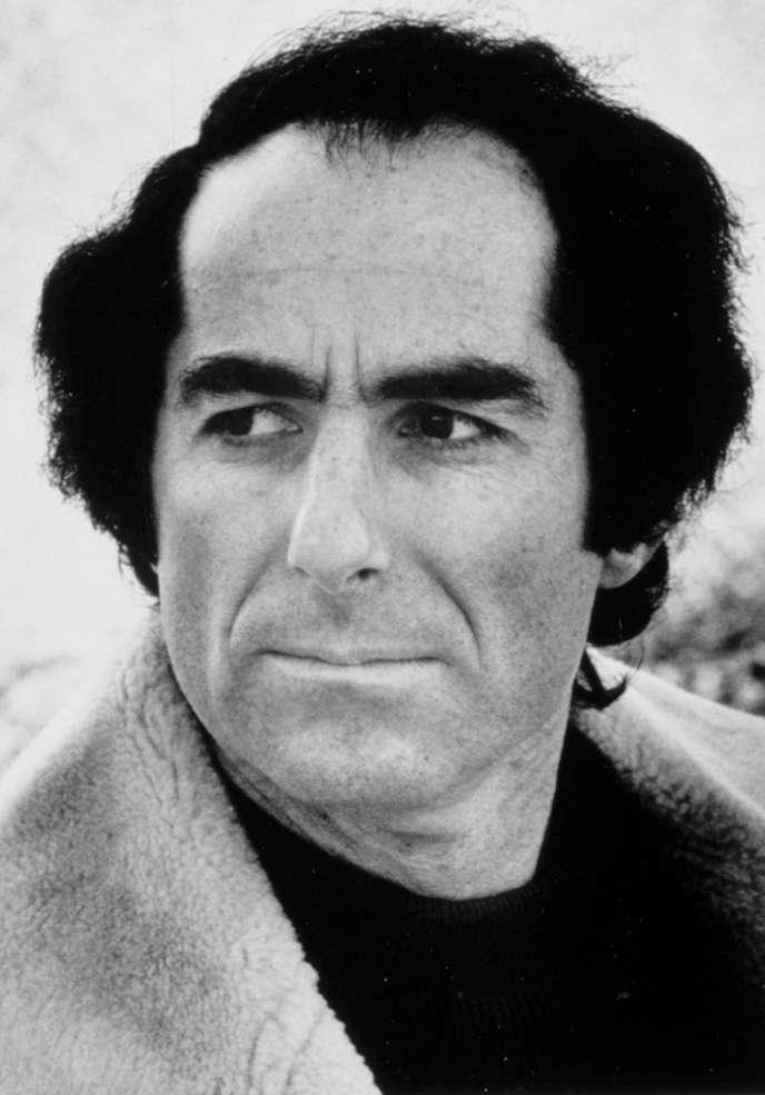 L'écrivain américain Philip Roth, en 1975.