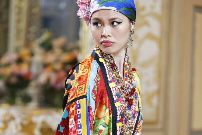 Dolce&Gabbana, défilé haute couture hiver 2020/2021