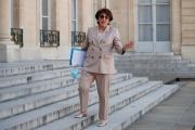 La ministre de la culture Roselyne Bachelot, à l'Elysée, le 7 juillet 2020.