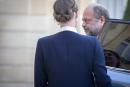 Eric Dupond-Moreti, ministre de la Justice, arrive au Conseil des ministres à l'Élysée à Paris, mardi 7 juillet 2020 - 2020©Jean-Claude Coutausse pour Le Monde