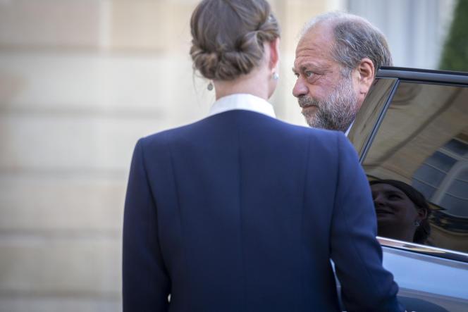 Eric Dupond-Moretti, ministre de la justice, à l'Elysée, le 7 juillet.
