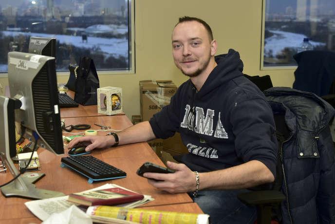 Le journaliste Ivan Safronov, à Moscou, le 10 janvier 2016.