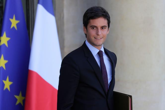 Gabriel Attal a donné son premier compte-rendu de conseil des ministres, le 7 juillet.