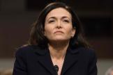 Sheryl Sandberg, directrice des opérations et numéro deux de Facebook, en 2018.