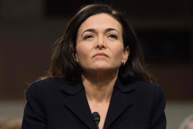 (FILES) In this file photo Facebook COO Sheryl Sandberg testifies before the Senate Intelligence Committee on Capitol Hill in Washington, DC, on September 5, 2018. Facebook on July 7, 2020 pledged to take further steps to remove toxic and hateful content from the leading social network as its top executives were set to meet with organizers of a mushrooming ad boycott. Chief executive Mark Zuckerberg and chief operating officer Sheryl Sandberg were to speak with leaders of the #StopHateForProfit campaign which has garnered more than 900 advertisers pausing their campaigns on Facebook. / AFP / Jim WATSON