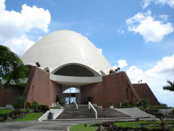 Lieu de culte (ou Maison d'adoration) bahaï à Panama City (Panama).