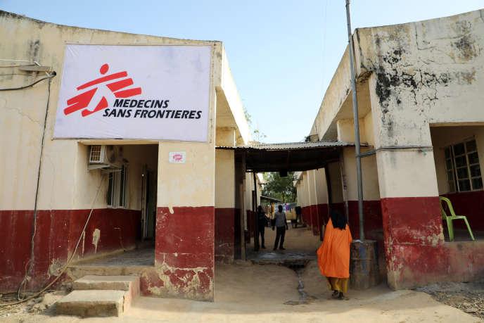 Une antenne de Médecins sans frontières (MSF) à Anka, dans le nord-ouest du Nigeria, en décembre 2019.