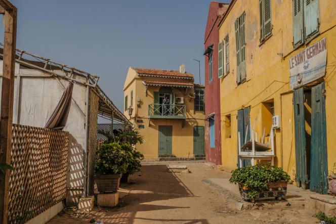 Les restaurants de l'île de Gorée n'ont pas vu de clients depuis trois mois. Ici, en juin 2020.