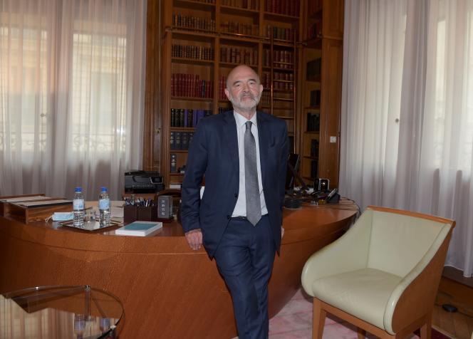 Pierre Moscovici, le premier président de la Cour des comptes, à Paris, le 30 juin.