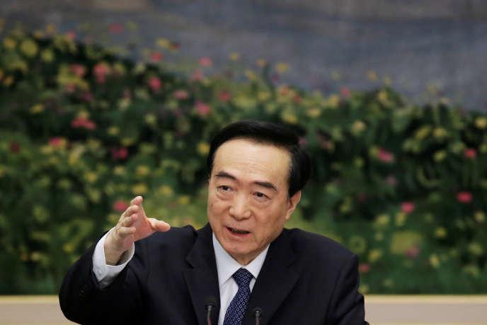 Chen Quanguo, principal responsable du Parti communiste chinois (PCC) au Xinjiang, est considéré comme l'architecte de la politique sécuritaire de Pékin dans la région depuis août2016. Il a été privé de visa par les Etats-Unis.