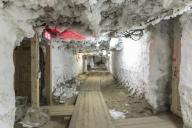 A Iakoutsk, le 13 septembre 2017, dans les galeries souterraines de l'Institut du permafrost Melnikov, creusées dans le pergélisol.