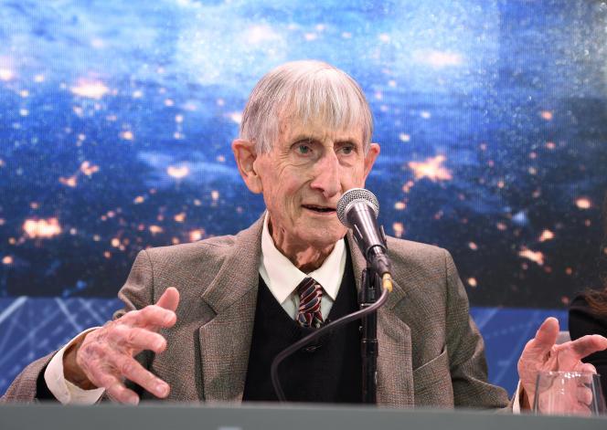 Freeman Dyson, à Princeton (New York), en avril 2016.
