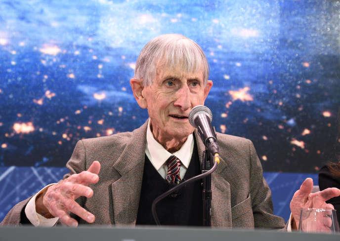Freeman Dyson, in Princeton, New York, in April 2016.