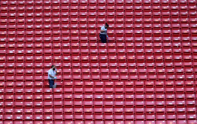 Au stade de Guadalajara (Mexique), le 8 juillet 2020.