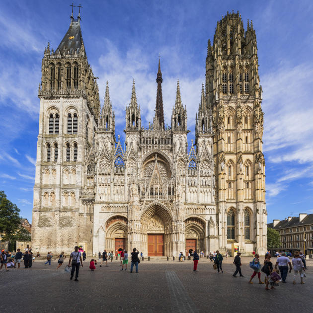 La cathédrale Notre-Dame de Rouen.