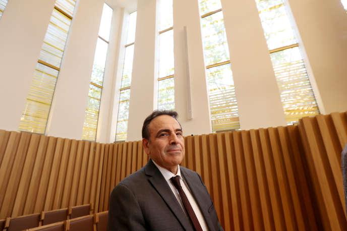 Le président du Consistoire, Joël Mergui, le 25 octobre 2019, au Centre européen du judaïsme à Paris.