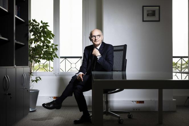 Didier Migaud, au siège de la Haute Autorité pour la transparence de la vie publique, à Paris, le 8 juillet.