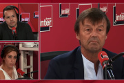 La démission, en direct de France Inter, de Nicolas Hulot, le 28 août 2018.
