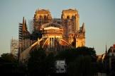 La cathédrale Notre-Dame de Paris, le 14 avril 2020.