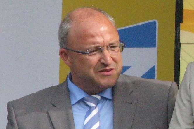 Damien Castelain en 2014.