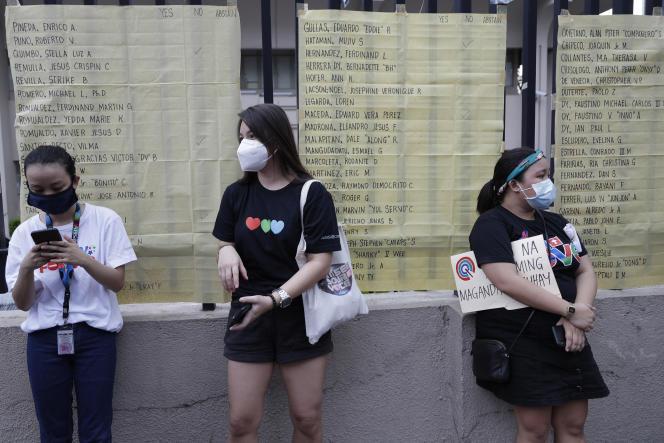A Manille, le 10 juillet.
