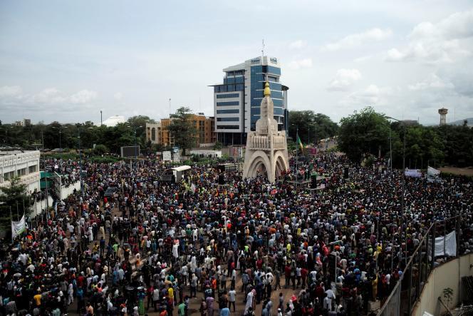 Manifestation à Bamako.
