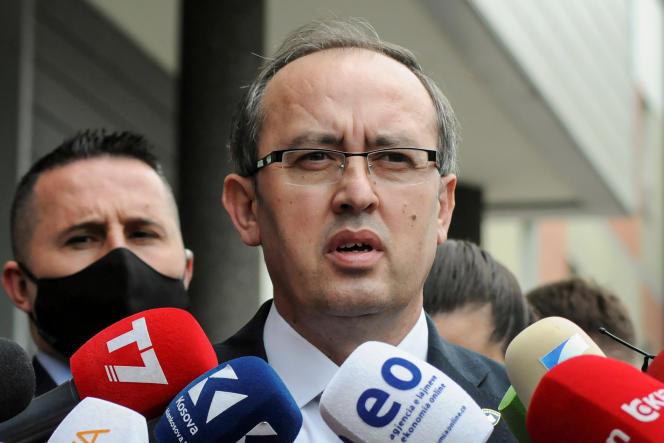 Le premier ministre du Kosovo,Avdullah Hoti, le 3 juin à Pristina.