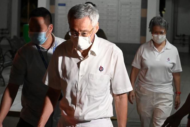 Le premier ministre singapourien, Lee Hsien Loong, le 11 juillet.