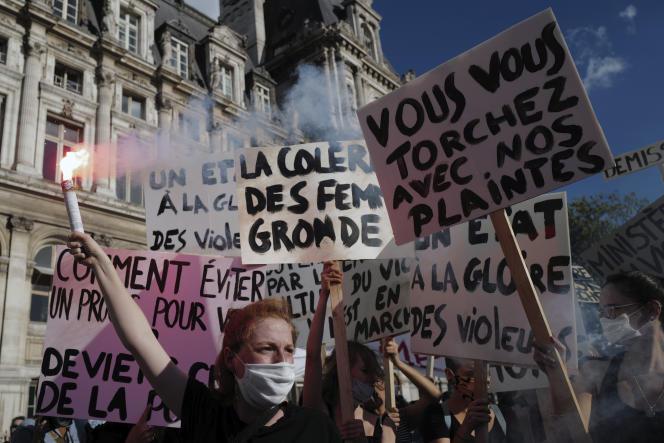 La manifestation à Paris.