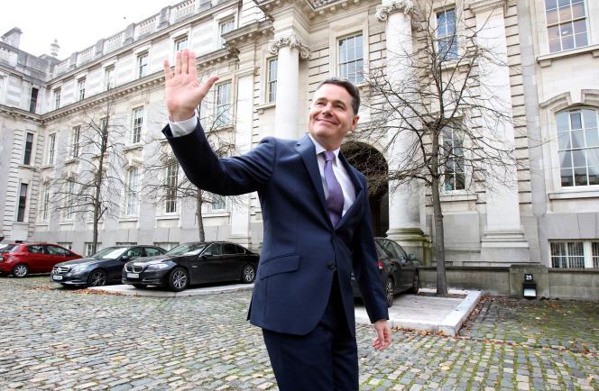 Le ministre des finances irlandais, Paschal Donohoe, à Dublin, en octobre 2019.