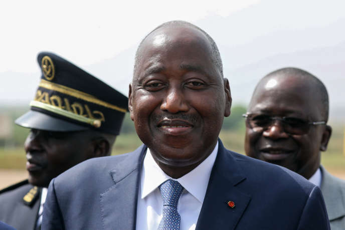 Le premier ministre ivoirien Amadou Gon Coulibaly le 8 juillet 2020.