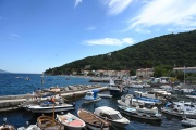 Le port deMoscenicka Draga, près de Rijeka, en Croatie, sur la côte Adriatique, le 1er juillet.