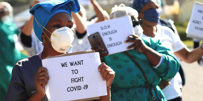 En Afrique du Sud, la crise sanitaire fait chuter l'activité industrielle