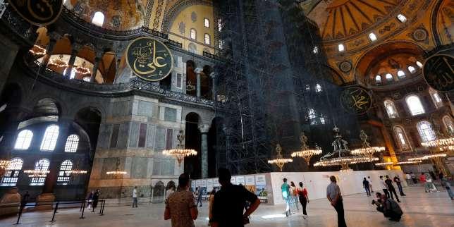 En Turquie, la justice ouvre la voie à la transformation en mosquée de l'ex-basilique Sainte-Sophie d'Istanbul