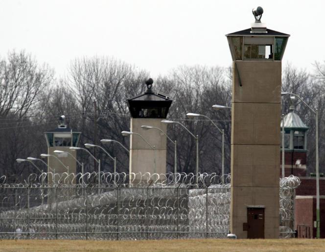 La prison de Terre-Haute, dans l'Indiana, en mars 2003.