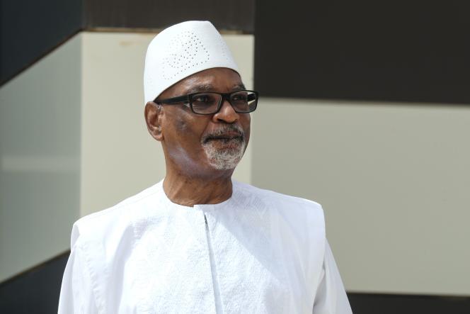 Le président malien, Ibrahim Boubacar Keita, au sommet du G5 Sahel, à Nouakchott, en Mauritanie, le 30 juin.